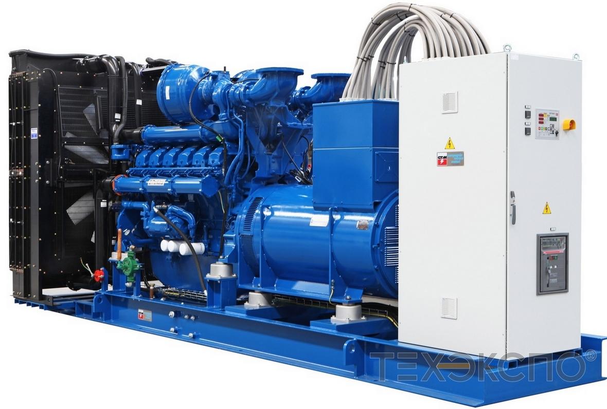 Высоковольтная дизельная электростанция мощностью 1350 кВт на двигателе Perkins